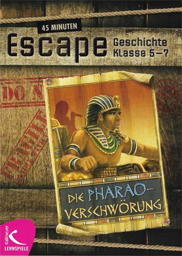 """Cover """"Die Pharaoverschwörung"""""""
