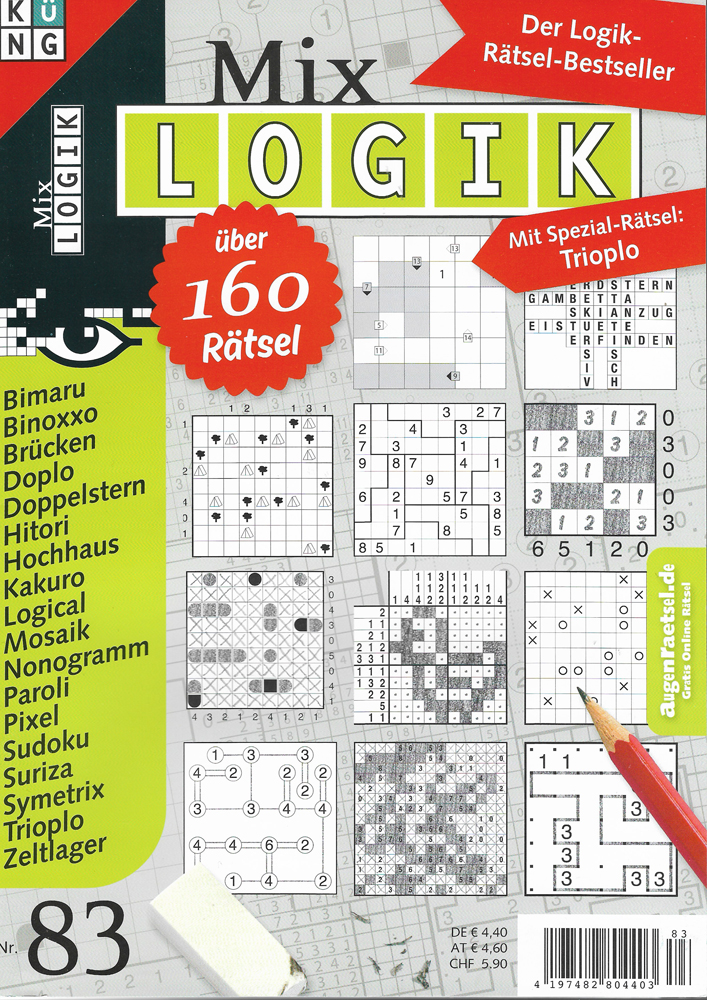 """83. Ausgabe der """"Mix Logik"""""""